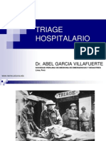 Triage Hospital a Rio y Las Escalas de Trauma