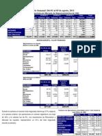 Informe Semanal del 01 al 05 de agosto del 2011