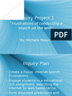 Michalle M_Inquiry Project 1
