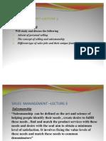 SALES Management Lecture3 Presentation