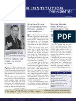 Hoover Institution Newsletter - Summer 2006