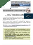Estructura Organizativa de Un Proyecto TIC