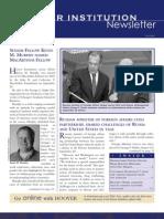 Hoover Institution Newsletter - Fall 2005