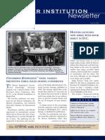Hoover Institution Newsletter - Summer 2005