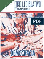 Barómetro Legislativo Trimestral abril-junio 2011