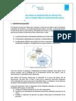 Orientaciones Técnicas Proyectos Culturales 02-06-2011
