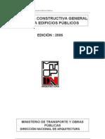 MTOP-Memoria Constructiva General (2006)