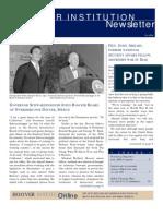 Hoover Institution Newsletter - Fall 2004