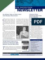 Hoover Institution Newsletter -Winter 2004