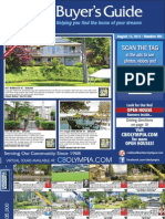 Coldwell Banker Olympia Real Estate Buyers Guide August 13th 2011