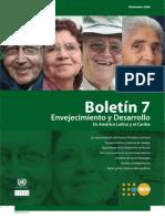 Boletin Envejecimiento y Desarrollo No7 Web (21Jul2011)