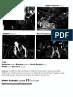 Metal Bulletin zine # 19