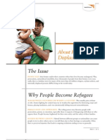 About Refugees and Displaced People