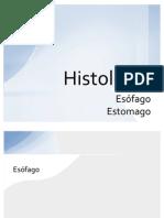 Histologia del Esofago  y Estomago