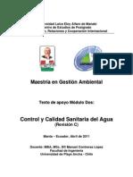 2011-02-23 Texto Modulo Control y Calidad Sanitaria Agua