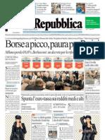 La Repubblica 11.08.11