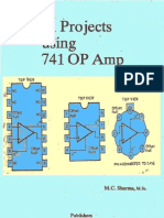 41 Projects Using IC 741 OP-AMP