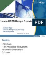 Dilger Lustre HPCS May Workshop