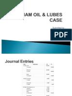 Waltham Oil & Lubes Case