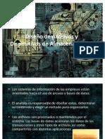 Diseño de Archivos y Dispositivos de Almacenamiento