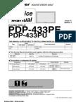 Pioneer PDP 433PE