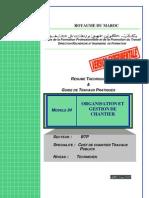 Module 24 ion Et Gestion de Chantier-BTP-TCCTP