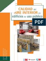 Calidad del aire interior en edificios públicos