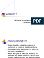 Chapter 7 - Demand Management and Customer Service