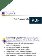 Chapter 8 - The Transportation System