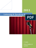 Listening & Speaking Material 1st