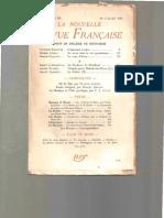 Georges Bataille - L'Apprenti-Sorcier & Pour Un Collège de Sociologie - NRF298 - 7-1938