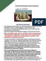 Ein Überblick über Rothschilds Raubzüge im Deutschland der Nachkriegszeit 1