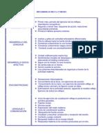 DESARROLLO DE 0 A 5 años