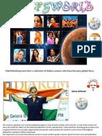 Internationally Famous Indian Women