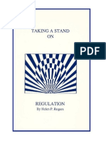 Taking a Stand on Regulation