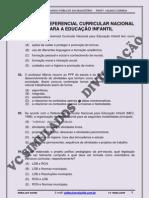 RCNEI - REFERENCIAL CURRICULAR NACIONAL PARA A EDUCAÇÃO INFANTIL - SIMULADO 2012