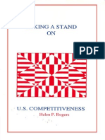 Taking a Stand on U. S. Competitiveness