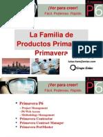(Presentation) La Familua de Productos Primavera – Luisa Frare – 11pg