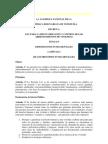 Proyecto de Ley de Control de Arrendamientos de Vivienda