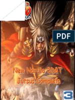 New Naruto 3D&T - Jutsus Completos
