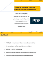 Utilizando o Neural Network Toolbox