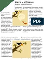 La Zorra y El Cuervo - The Fox and the Crow