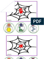 Spiders to Web Beginning Sounds