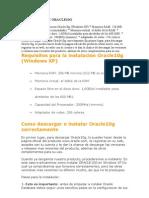 INSTALACION DE ORACLE10G