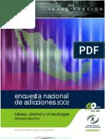 Encuesta Nacional Sobre el Uso de Drogas 2002