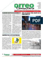 Correo Comunitario Agosto 2011 Ed.50