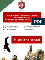 4-El Ecosistema y El Equilibrio Natural 2011