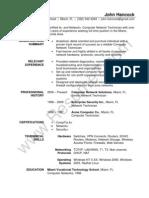 network technician resume sample. Resume Example. Resume CV Cover Letter