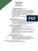 HR Administrator Resume Sample