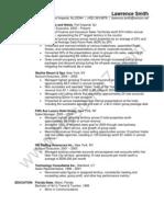 Account Executive / Sales Resume Sample